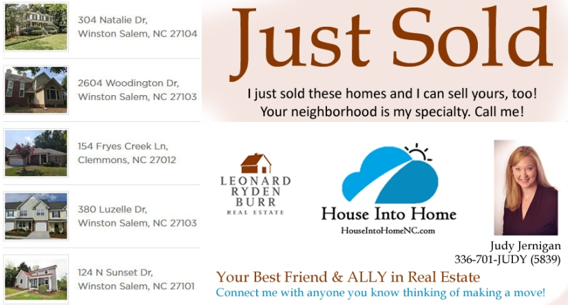Just Sold By Judy Jernigan